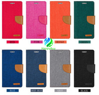 Fashionable western style TPU+PU+CANVAS material cell phone case for iphone6,6plus with excellent quality and reasonable price o