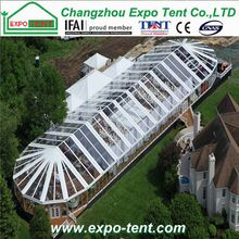 Good quality good reputation flexible transparent marquee event tent