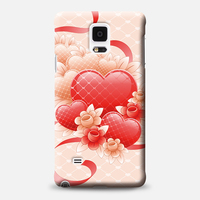 2016 Designs Cover Case For Samsung Galaxy Note4 , Personlized 3D Full Printing Parts Mobile Accessories