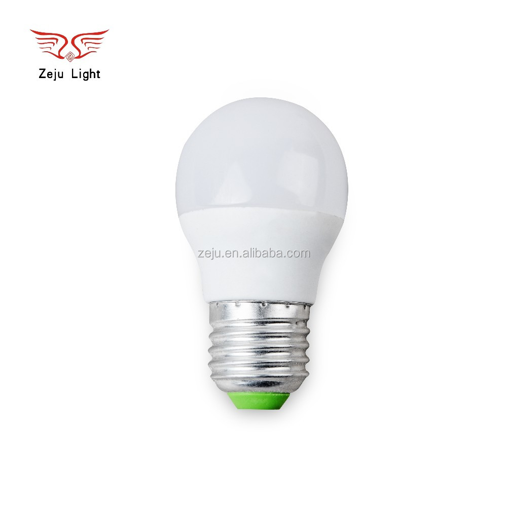 Hot sales, good quality G45 LED light bulbs E27 3w 4w 7w