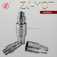 ZJ-YCT hydraulic system for truck quick release hose fittings