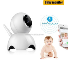 Factory OEM Smart Pan Tilt P2P 720P HD Intelligence Camera Audio WIFI Baby Monitor with Smart Phone Viewing