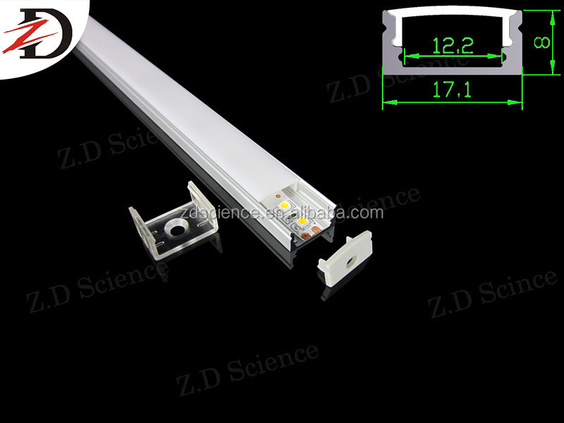 R,Y,B,G,CW,WW,PW Emitting Color and LED Light Source Rigid Bar Aluminium Profile Led Strip Bar