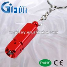 portable promotional gifts and tool square led flashlight keychain
