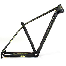 29er mtb bike parts with full suspension carbon bike frame customized