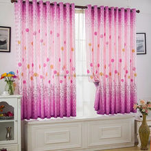 home textile,Reactive printing fabric designs window curtain for sale
