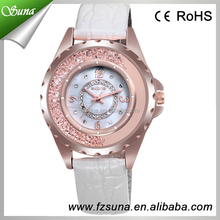 New Big Case Crystal Bracelet Watches SKONE SK9303 Women Diamond Classic Quartz Watch