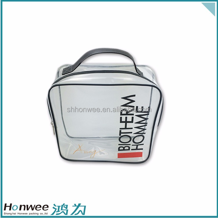 Promotional Customized Transparent EVA Embedded Tote Bag