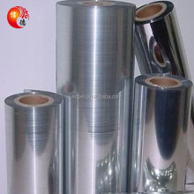 PET Material and Soft Hardness metallized bopet film
