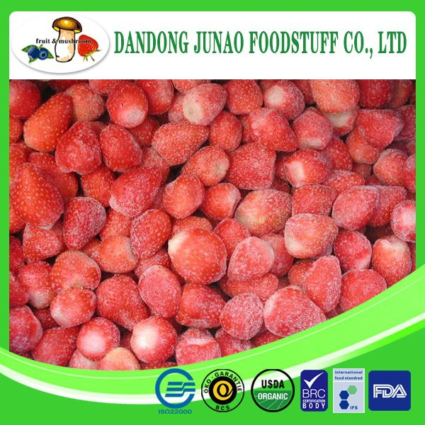 IQF frozen fruit sweet strawberry whole