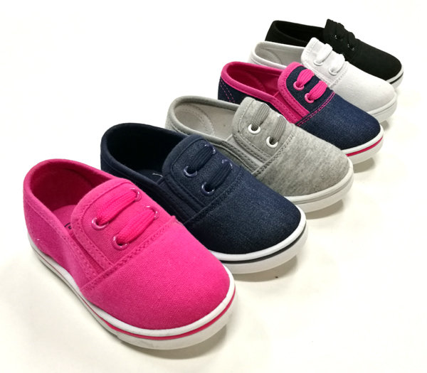 2018 new design white lace children's canvas sneaker perfect kids shoes 2018 shoes girl