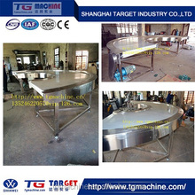 U shape conveyor for biscuit making line