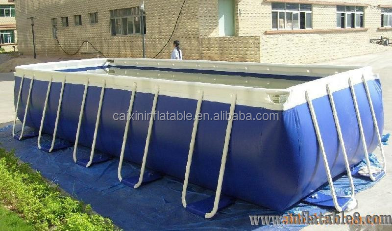 outdoor Funny metal frame pool folding swimming pool