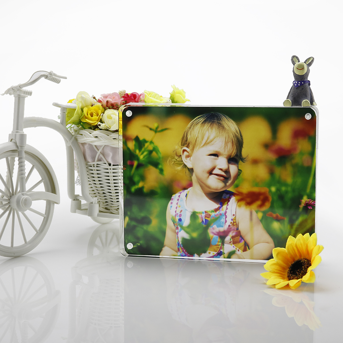 Acrylic 4x6 Picture Frame with Magnetic