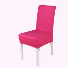 Home textile rose lycra spandex stretch chair covers