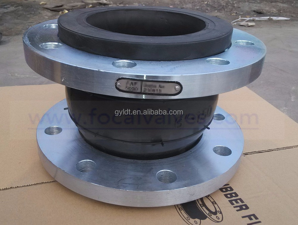 DN300 Flexible Single Ball Rubber Expansion Joints
