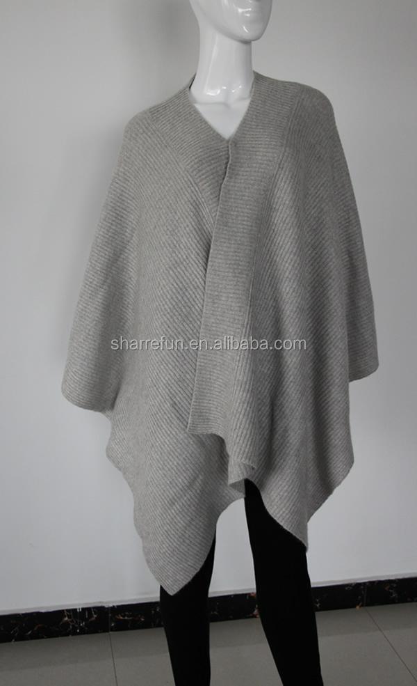100 reine frauen kaschmir pashmina strickmuster poncho sweaters produkt id 60219604560 german. Black Bedroom Furniture Sets. Home Design Ideas