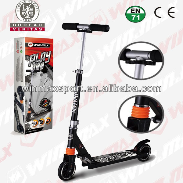 Alumnium Foldable 2 wheel trix scooter
