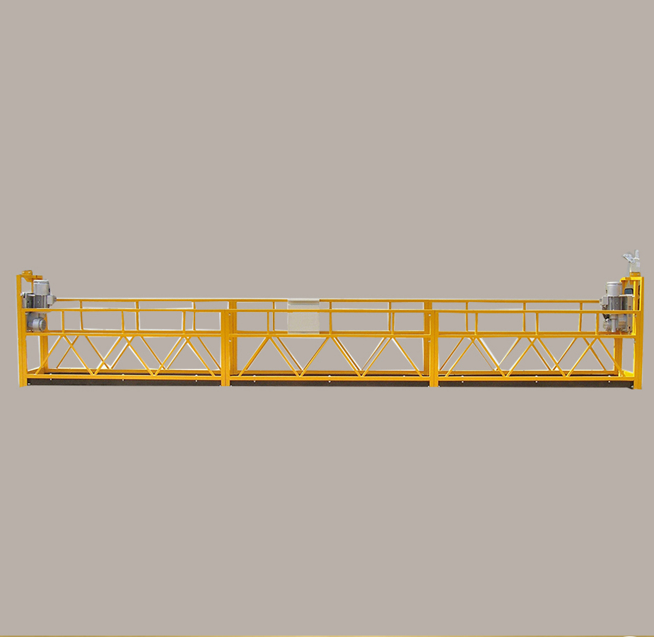 High building cleaning equipment suspended scaffold construction gondola lift construction cradle
