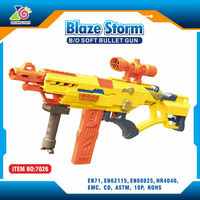 sniper rifles nerf machine gun toy/infrared electric sniper toy guns shoots soft darts wholesale toy from china
