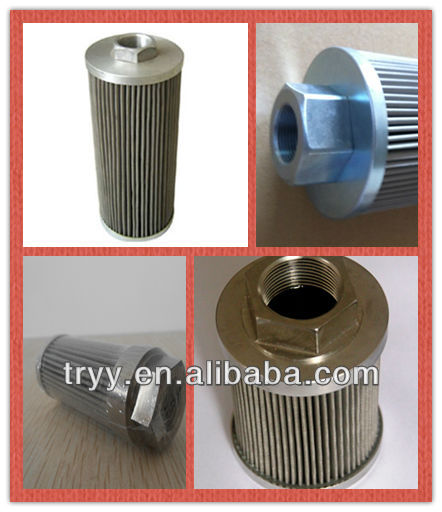 Stainless Steel Suction Filter WU-16x40j Oil Filter Element