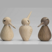 2018 fashion hot sales hand wooden craft kids statues toys gifts wholesale table wood decorative woodpecker made in China