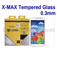X-MAX 0.3mm Tempered Explosion-proof Screen Protectors For Samsung for Galaxy S4 Glass I9500