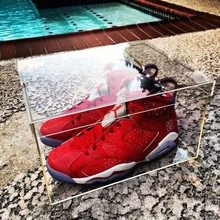 New Product Transparent Acrylic Shoes Box Display Case For Nike Shoes Men