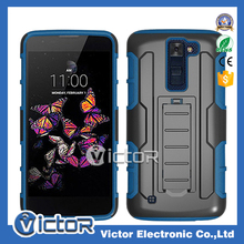 2017 New model Robot holster kickstand selleys case for LG K8 2017 with black clip