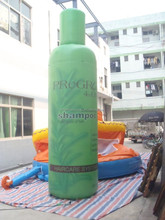 real inflatable shampoo bottle models /Inflatable bottle replica for advertising