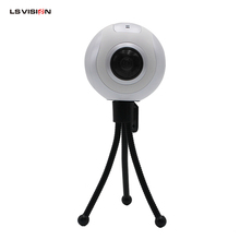 LS VISION 360 Degree Panorama VR Video Camera Fisheye Wild-angle Lens Full HD 1440P 1080P 30FPS Sports Action Wifi Camera Dome