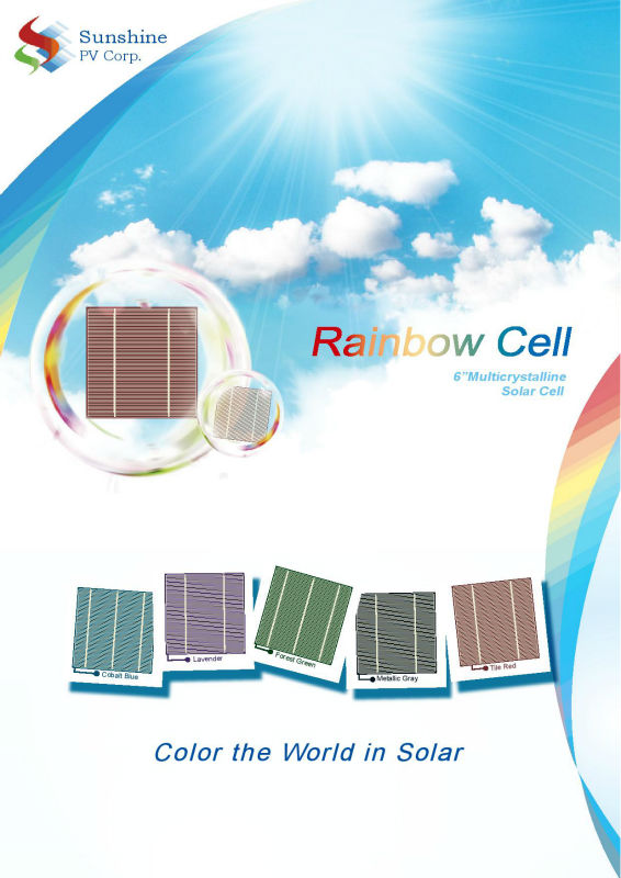 color solar cell