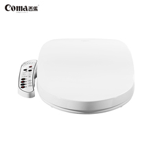 Coma Round Floor Mounted Ceramic Smart Electric Bidet Toilet Seat Smart