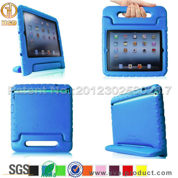 China Trade Assurance Supplier Wholesale eva cases for iPad4/ 3 / 2
