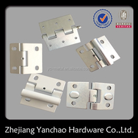 China factory OEM custom different types door hinges, stamping metal