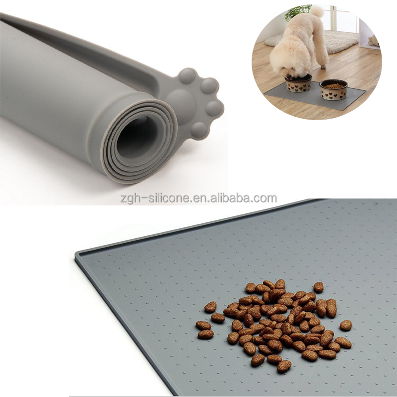 New Design Anti-slip Silicone Dog Feeding Pet Mat