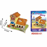 ECO educational 3d jigsaw puzzle gift item for kids
