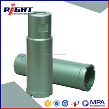 Customized 45 mm diamond core drill bit with long service life