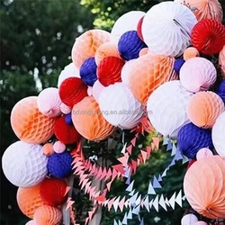 New Design Popular Wedding Decoration Party Favor Parachute paper Honeycombs ball