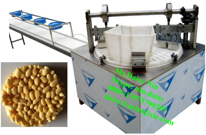 automatic cereal candy cake machine/ ball cereal making machine/bar cereal machine