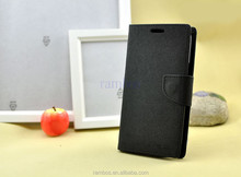 Leather Card Phone Holder Flip Cover Leather Case for blackberry 9360 9380 9860