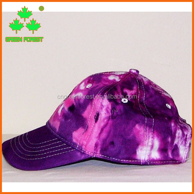 sensational women cotton tie dye hats