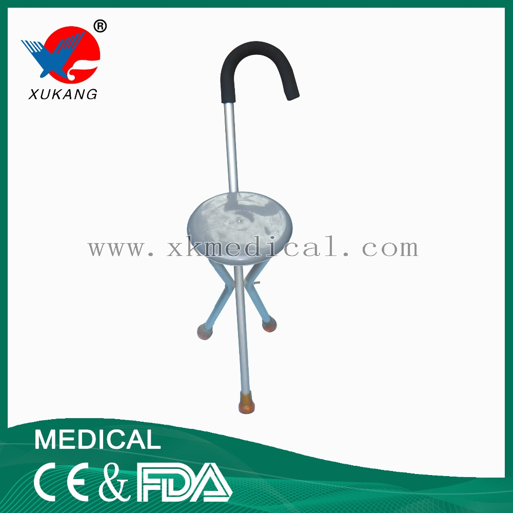 High quality aluminum alloy 4 legs crutch for elder persons
