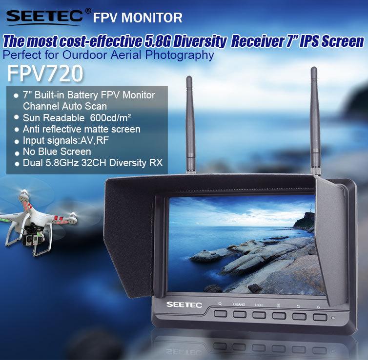 Seetec 7 39 39 Dji Phantom Fpv Lcd Monitor Rc Transmitter