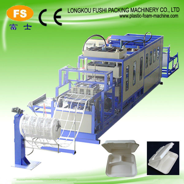 PS Disposable Foam Food Packaging Machinery