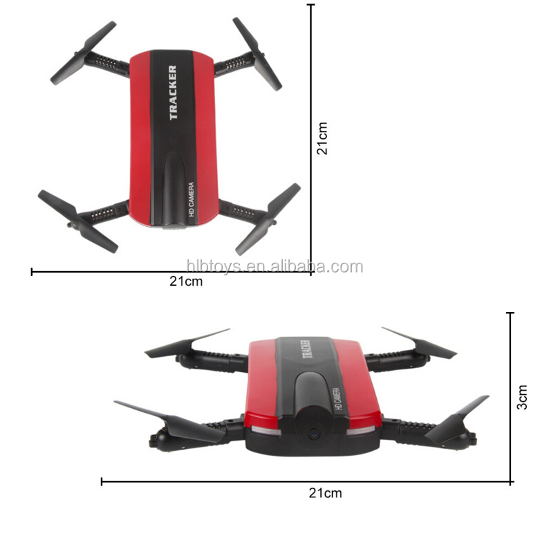 2017 New 2.4G Foldable Mini Selfie Drone With Camera Altitude Hold FPV Quadcopter WiFi Phone Control For Sale