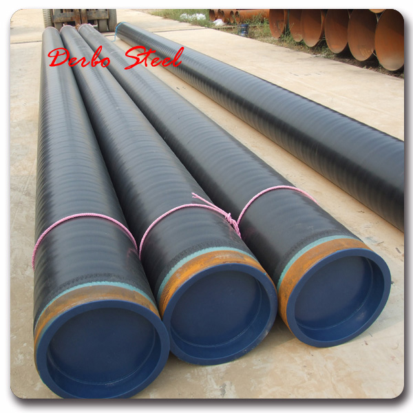 FORM E AVAILABLE api x42 line steel pipe support 3layer pe coated steel line pipe