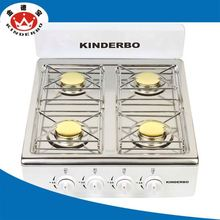 4 burner Hot sale touch screen electric gas stove