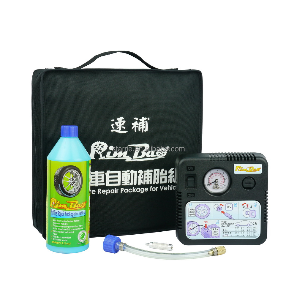 Taiwan 400ml/13.5oz Tire Sealant and inflator for vehicle / OEM acceptable