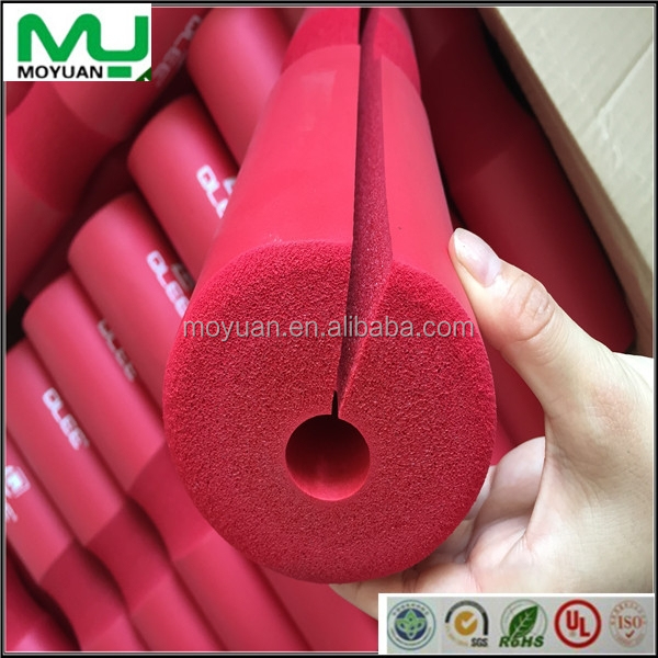 soft rubber nbr customized Sports equipment handle foam tube